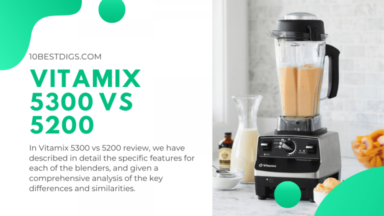 Vitamix 5300 vs 5200