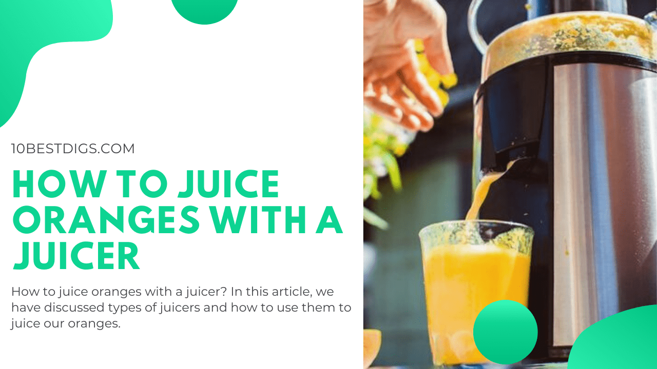 How to Juice Oranges With a Juicer