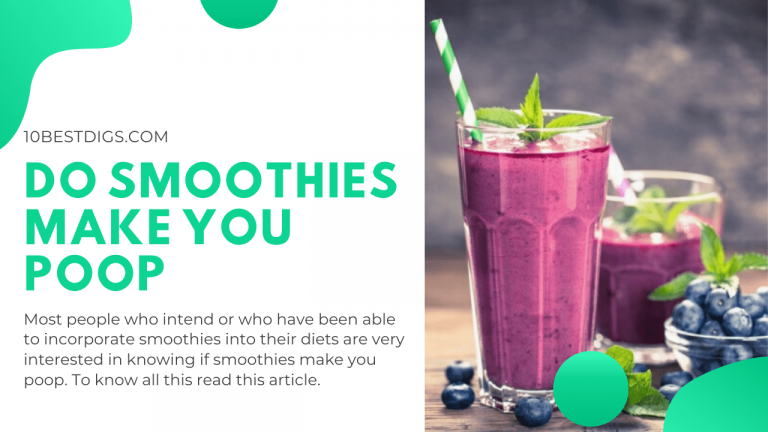 Do smoothies make you poop
