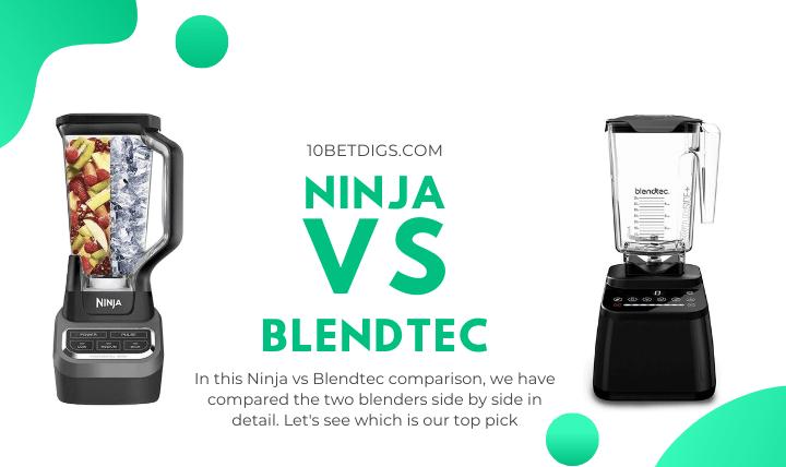Ninnja vs Blendtec
