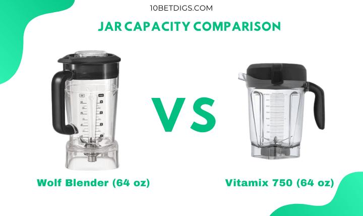 Vitamix vs Wolf Blender