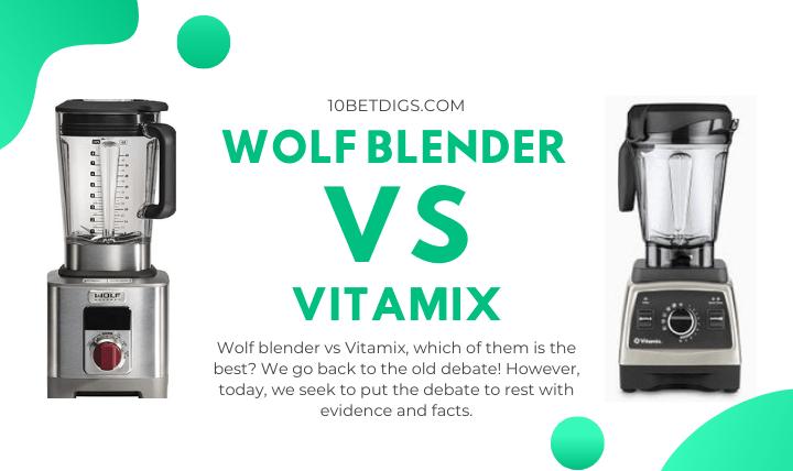 Wolf Blender Vs Vitamix