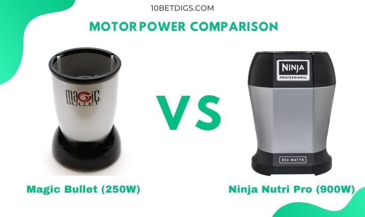 Ninja Blender vs. Magic Bullet