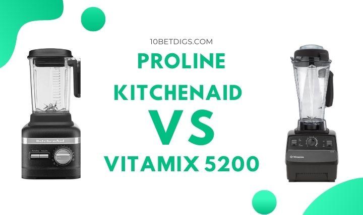 KitchenAid Blender and Vitamix