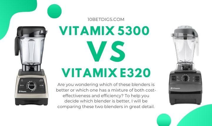 Vitamix 5300 vs e3200