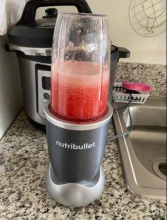 NutriBullet 600 Juice Test