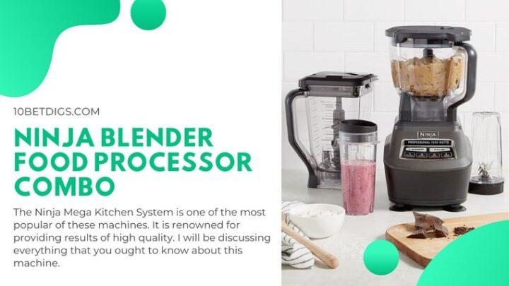 Ninja Blender Food Processor Combo