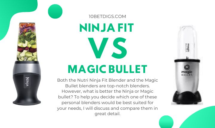 Ninja Fit vs Magic Bullet